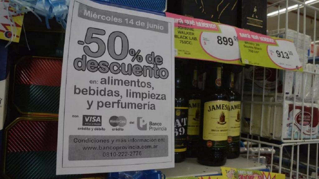 Banco Provincia: vuelve la promoción de 50% de descuento en supermercados