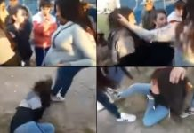 Claypole: Una embarazada le dio una golpiza a una chica porque tenía un pañuelo verde