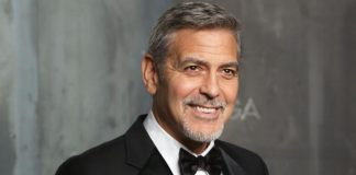 george clooney, internado,italia, accidente