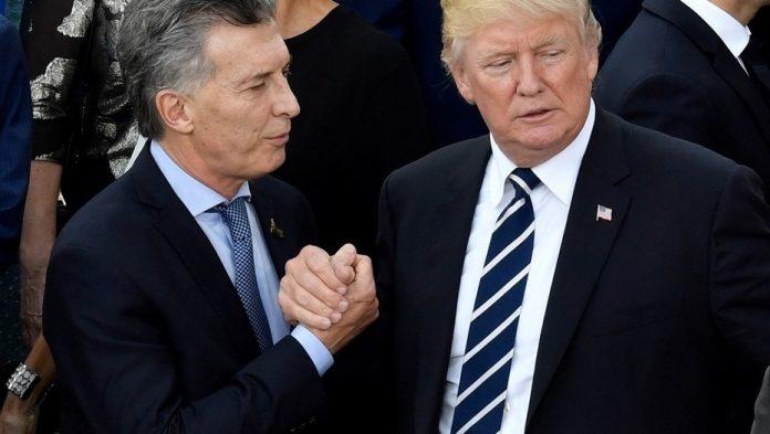 visita de donald trump, donald trump en argentina