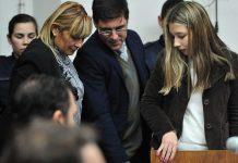 Nahir Galarza fue condenada a prisión perpetua por el crimen de Fernando Pastorizzo