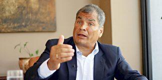 La Justicia de Ecuador ordena la detención de Rafael Correa