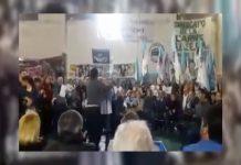 Escándalo: un acto de Mariotto en San Miguel terminó a las piñas