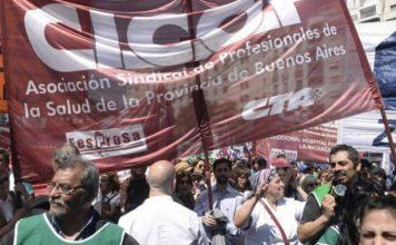 Médicos bonaerenses realizan paro en reclamo de aumento salarial