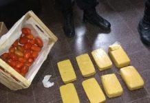 En cajones de tomates, intentaron ingresar cocaína a la cárcel de Florencio Varela