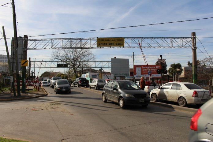 Suspendieron la construcción de un paso bajo nivel en Adrogué