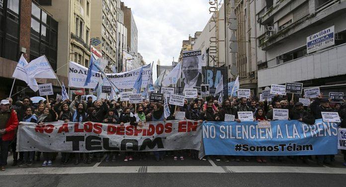 Fiscal pidió reincorporar a los354 trabajadores despedidos de Télam