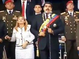 Nicolás Maduro sufrió un atentado con drones durante un acto público en Venezuela