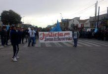 lomas de zamora, ivan echeverria, marcha, justicia