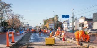 Quilmes: avanza el Metrobus de la avenida Calchaqui