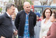 Martiniano Molina, Macri, vidal, quilmes