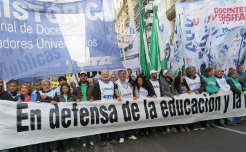 Fracasó la paritaria de los docentes universitarios con el gobierno de Macri