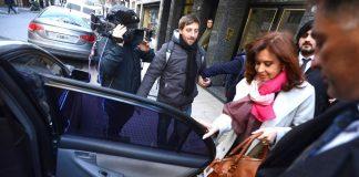 Cuadernos de las coimas: fuerte operativo policial para recibir a Cristina kirchner