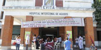 Hospital Evita de Lanús: camillero y paciente cayeron por un ascensor