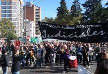 Los judiciales realizan un paro en reclamo por la reapertura paritaria