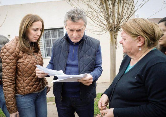 Macri y Vidal encabezaron un nuevo timbreo de Cambiemos