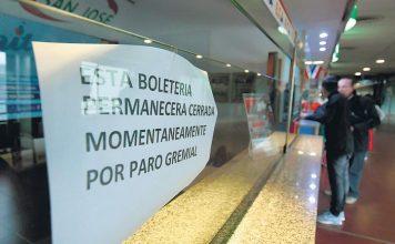 Crisis de los micros: La UTA declaró estado de alerta por la falta de pago de sueldos