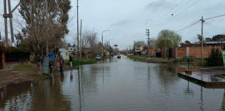 Fuerte sudestada en Quilmes afecto la ribera de la ciudad