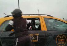 motochorros, arroparque, robo, celular, taxi