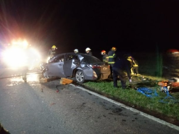 Murieron dos rugbiers del club Manuel Belgrano en accidente de transito