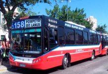 Lanús, asalto a colectivo, colectivo linea 158