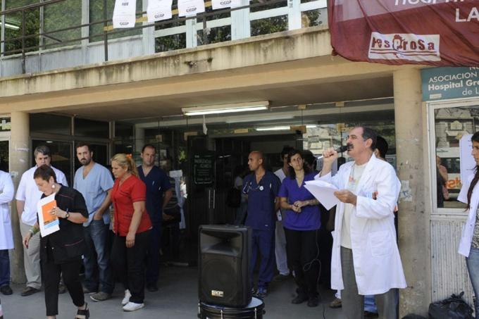 salud provincia, Paro de médicos bonaerenses, paritaria