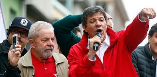 Fernando Haddad, pt, elecciones en brasil, lula