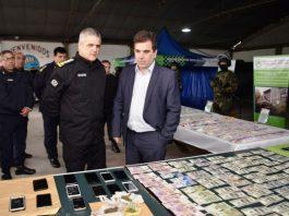 Berazategui: Ritondo supervisó un operativo que desbarató banda narco