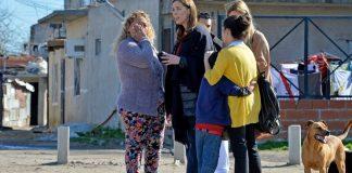 Vidal recorrió los barrios más del Conurbano con apoyo de Macri y Stanley