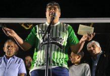 Pablo Moyano volvió al país