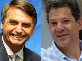 Elecciones en Brasil, balotaje en Brasil, Bolsonaro, Haddad