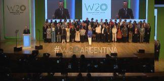 Macri, w20, mujeres
