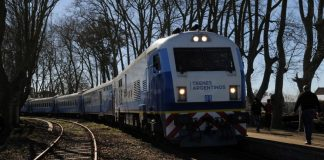 trenes argentinos, mar del plata, pasajes