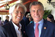 christine lagarde, macri, g20, FMI