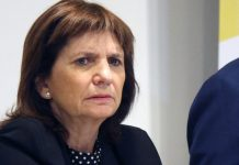 Patricia Bullrich, escrache, córdoba