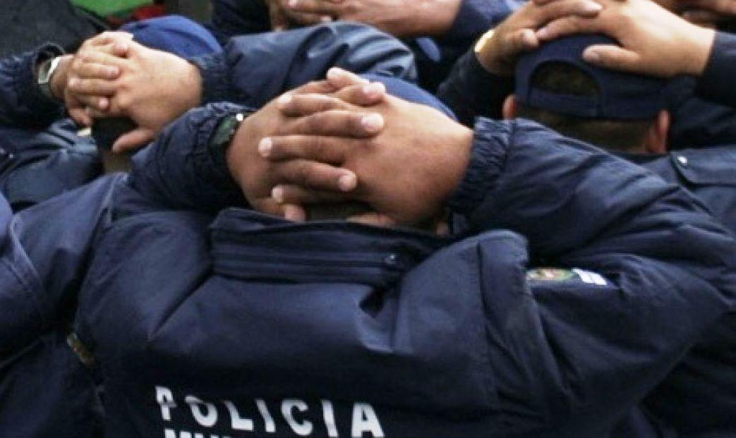 merlo, detenidos, policías