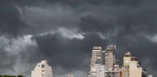 Alerta meteorológica por caída de granizo en la Ciudad y el Gran Buenos Aires