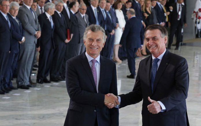 Macri, Bolsonaro, brasilia
