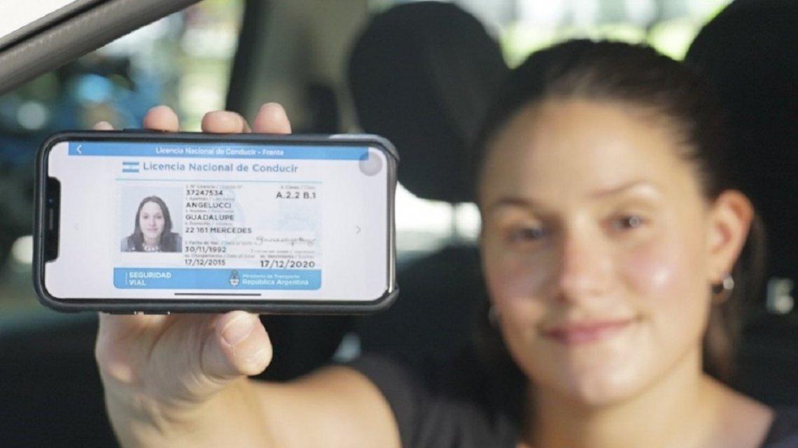 licencia de conducir, licencia de conducir digital, mi argentina