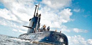 submarino ara sanjuan