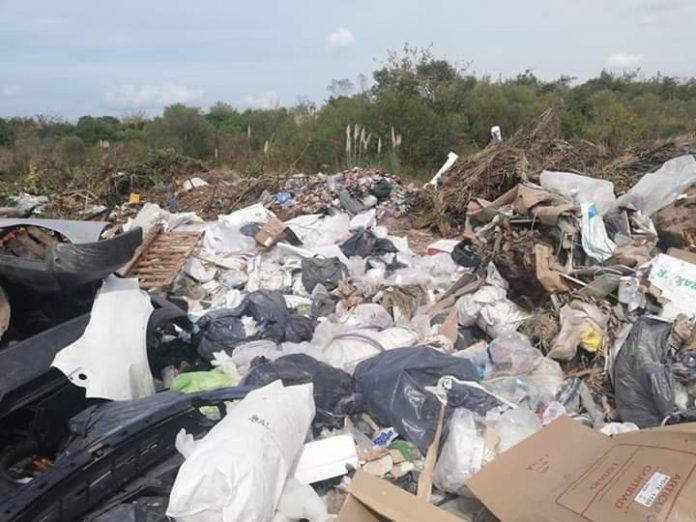 Municipio de pilar, basura
