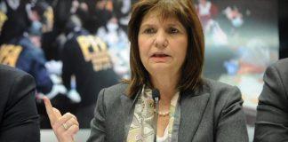 Patricia Bullrich, organizaciones terroristas
