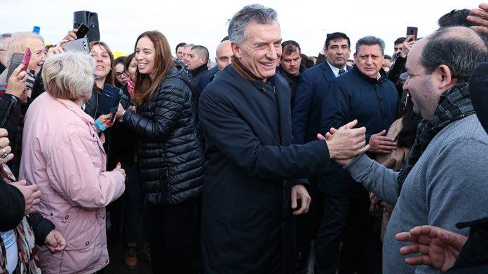 Macri, Vidal, Juntos el cambio, Mard del plata