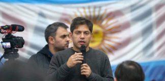 Alberto Fernández, Kicillof, intendentes