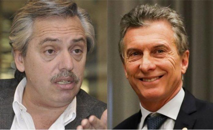 Alberto Fernández, Macri, encuesta
