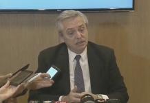 alberto fernández, macri, llamado, conferencia de prensa