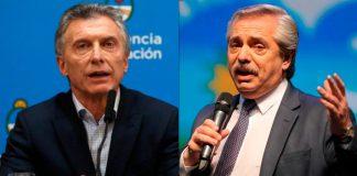 Macri, Alberto Fernández, Malba