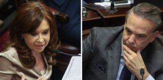Cristina Kirchner, Pichetto, debate